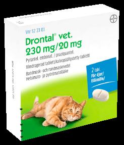 Drontal vet. matolääke kissoille